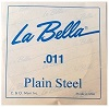 LA BELLA Plain Steel PS011 Одиночная струна сталь