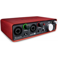 FOCUSRITE Scarlett 2i2 2nd Gen USB Интерфейс