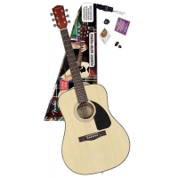 FENDER CD-60 DREADNOUGHT PACK NATURAL Набор