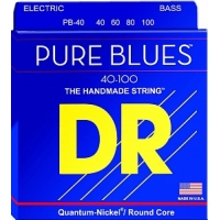 DR PB-40 (40-100) Pure Blues Струны для бас-гитары